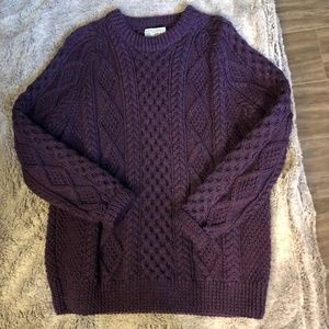 Never worn, Irish Cable Knit Sweater